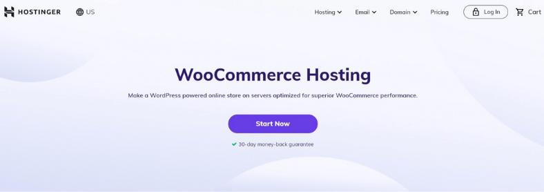 Hostinger woo commerce hosting