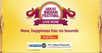 Happiness Upgrade Days (Amazon Great Indian Festival) Best Offers And Deals To Grab