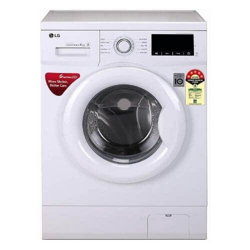 Fast and clean wash with 6 motions, Child lock, Time delay, Baby Care, Smart diagnosis.