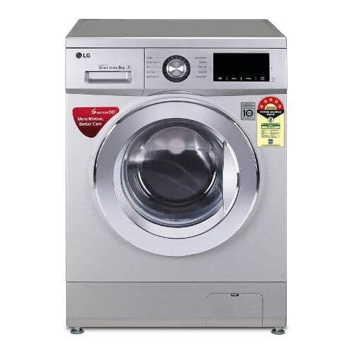 8.0 Kg, 5 Star Inverter Fully-Automatic Front Loading Washing Machine