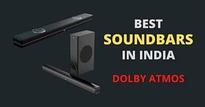 dolby atmos soundbars in India