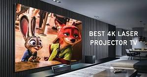 best 4k laser projector tv