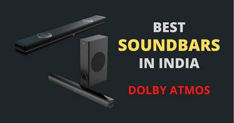 dolby atmos soundbars in India