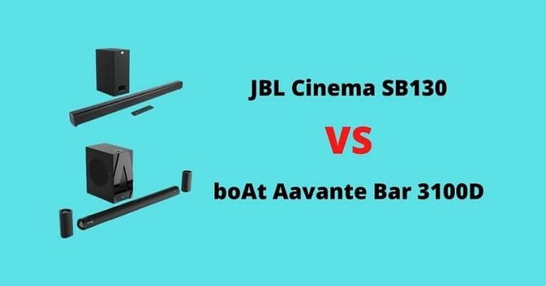 boat Aavante bar 3100D VS JBL Cinema SB130